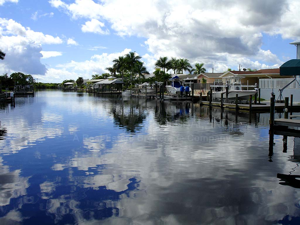 View Down the Canal From Matlacha Isles